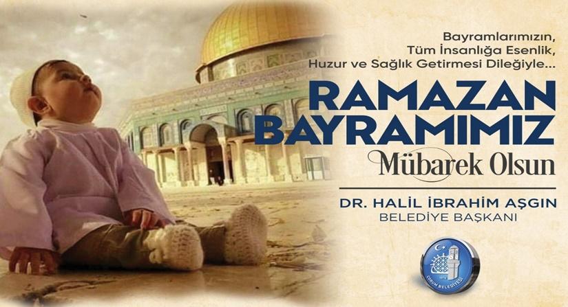 Ramazan bayramı ilanıdır