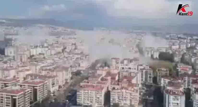 İzmir'de 6.9 Büyüklüğünde Deprem