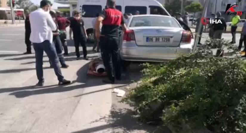 Minibüs Ve Otomobil Çarpıştı: 4 Yaralı
