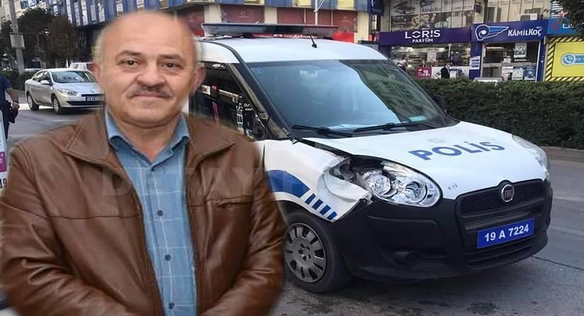 Polis Aracının Çarptığı Muhasebeci Hayatını Kaybetti