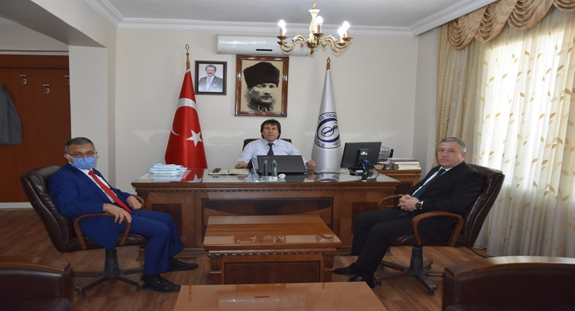 İşkur İl Müdürü Tuzcu, Başkan Akkaş'ı Ziyaret Etti