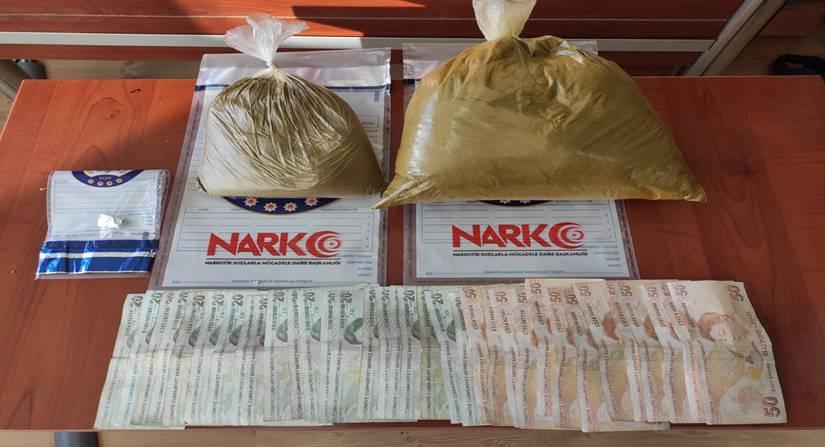 Çorum'da Uyuşturucu Satıcısı 2 Kişi Tutuklandı