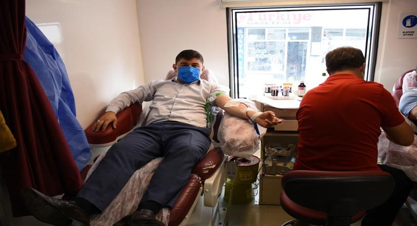 İskilip Belediye Çalışanları Kan Bağışında Bulundu