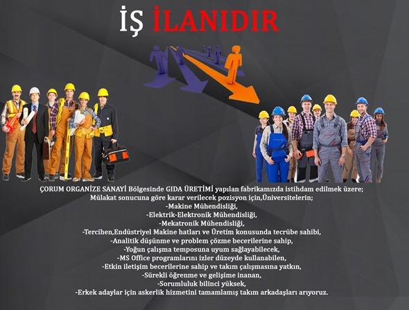 İŞ İLANIDIR