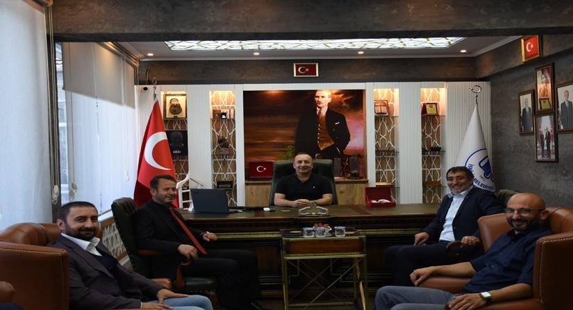 Çorum Barosundan Başkan Ali Sülük'e Ziyaret
