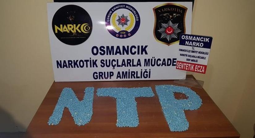 Osmancık ta Uyuşturucu Operasyonu